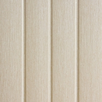 Concave ivory white wood