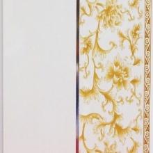 MA 20046 - WHITE & GOLD FLOWER