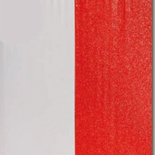 PL.08.032 - FLAT GLITTERY RED & WHITE