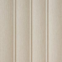 Convex ivory white wood